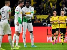 Reus eleva al Borussia Dortmund ante el líder. EFE/EPA