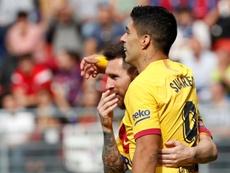 Suárez est revenu sur sa relation avec Leo Messi. EFE