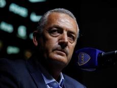 Alfaro criticó la labor de los árbitros. EFE