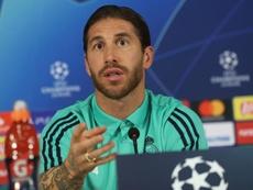 Sergio Ramos sacó pecho por Zinedine Zidane. EFE/EPA/ERDEM SAHIN
