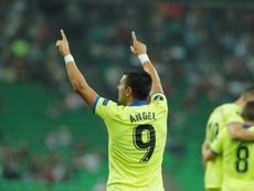 Ángel es el favorito para reforzar al Barça. EFE/EPA/Archivo