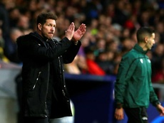 Le onze surprise de Simeone pour la réception du Lokomotiv. EFE