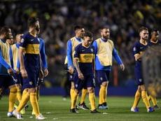 El audio del VAR en el gol anulado a Boca. EFE