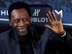 Pelé repassou momentos de sua carreira ao 'La Gazzetta dello Sport'. EFE/Ian Langsdon/Archivo