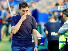 Asier Garitano analizó la derrota. EFE/Archivo