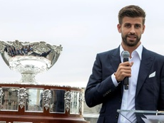 Pique would like to becomethe Barcelona president in the future. EFE