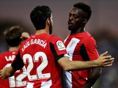 Iñaki Williams sufrió insultos racistas en Barcelona. EFE