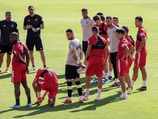 El Mallorca se enfrenta al Barcelona en Liga. EFE