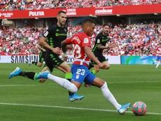 El Atlético intentó fichar a Machís. EFE/archivo