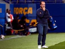 El Barcelona goleó al Tacón. EFE