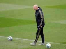 Zidane et ses sept piliers. EFE