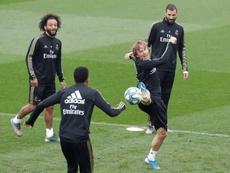 El Madrid se enfrentará a la Real Sociedad en el siguiente partido. EFE