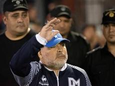 Maradona se marcharía si su presidente no continúa. EFE