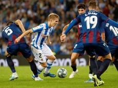 Odegaard veut pouvoir jouer contre le Real Madrid. EFE