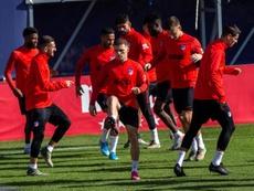 El Atlético piensa en qué jugadores podría vender para poder fichar. EFE