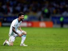 A Copa de 2022 pode ser a cartada final de Messi. EFE/Yuri Edmundo