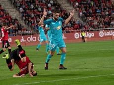 Roberto Torres cree en la victoria ante el Madrid. EFE