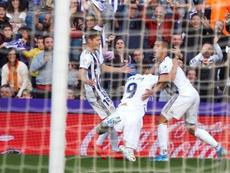 Al Valladolid le falta claridad en los últimos metros. EFE/Archivo