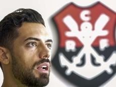 Flamengo se despidió de Pablo Marí... ¿destino Arsenal? EFE/Antonio Lacerda