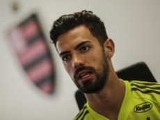 Pablo Marí estava quase no Arsenal. EFE/Antonio Lacerda