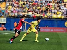 Gerard Moreno cree que al equipo le faltó ambición en Mallorca. EFE