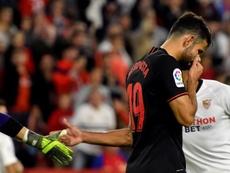 Diego Costa souffre d'une hernie discale cervicale. EFE