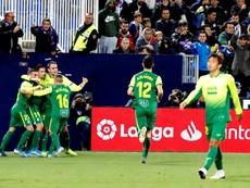 Charles hizo el gol del empate en el Coliseum. EFE