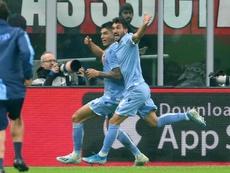 El Milan volvió a defraudar ante su público. AFP
