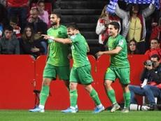 La Real Sociedad se llevó los tres puntos del Nuevo Los Cármenes. EFE