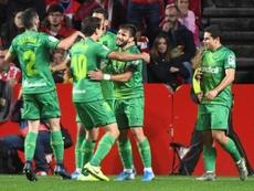 La Real Sociedad sur le podium avec le Barça et le Real. EFE