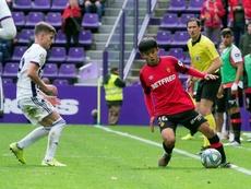 Kubo logró estrenarse con el Mallorca. EFE