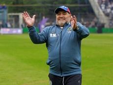 ¿Se va Maradona de Gimnasia? EFE/ Demian Alday Estévez/Archivo