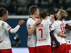 El RB Leipzig venció con comodidad al Zenit. EFE/EPA/ANATOLY MALTSEV