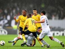 El Arsenal se llevó la victoria con muy poco. EFE/EPA/Estela Silva