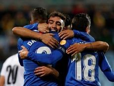 Dabbur y Munir llevan al Sevilla al éxtasis y a 1/16 de la Europa League. EFE
