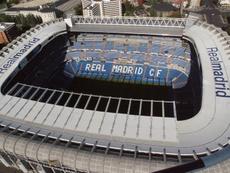 El Unionistas-Madrid podría acabar jugándose en el Bernabéu. EFE/Archivo