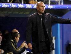 Zidane tuvo un día negro con las lesiones. EFE