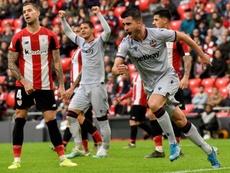 El Athletic venció por la mínima al Levante. EFE