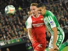 El Sporting espera contar con Feddal el lunes. EFE