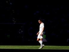 Bale entrenó con Gales. EFE