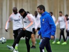 El Valencia sigue sin un líder visible en la secretaría técnica. EFE