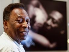 Reveladas imagens do dia em que Pelé marcou oito gols. EFE/Sebastiao Moreira
