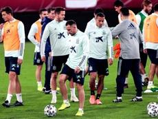 La Selección sigue dándole vueltas a dónde concentrarse para la Eurocopa. EFE/Archivo