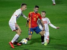 La Sub 21 volverá a jugar en Alcorcón, como ante Macedonia. EFE/Archivo