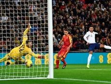 Inglaterra pasó por encima de Montenegro. EFE