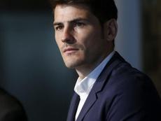 Casillas refletiu sobre a Bola de Ouro. EFE/Juan Carlos Hidalgo