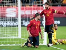 Ramos y Piqué entran en la prelista para los Juegos Olímpicos. EFE/Román Ríos