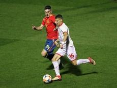 Pepelu fue titular en la victoria ante Macedonia del Norte. EFE