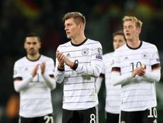 Alemanha demora, mas engrenou e fez goleada. EFE/EPA/FRIEDEMANN VOGEL