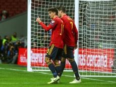España empieza a ver el camino a la Liga de Las Naciones. EFE